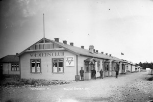 The Soldiers' Club, Featherston Military Camp