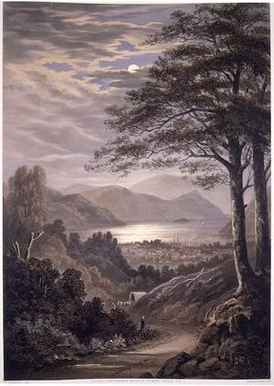 Barraud, Charles Decimus, 1822-1897 :Picton Harbour. C. D. Barraud del, 1875. W. Blatchley lith. C. F. Kell, Lithographer, London [1877]