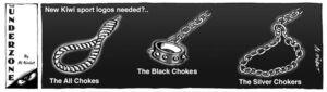 New Kiwi sport logos needed?.. The All Chokes. The Black Chokes. The Silver Chokers. 20 November, 2007
