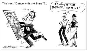"The next ""Dance with the Stars""?.. ""So much for dancing with us!"" 22 June, 2005"