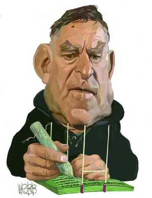 Webb, Murray, 1947- :[Colin Meads] 15 August, 2002.