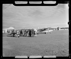Chrislea Ace aircraft, Southland Aero Club, Invercargill