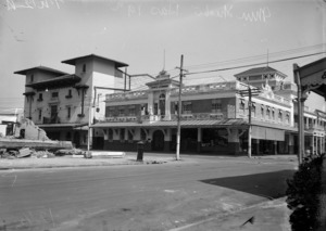 Municipal Buildings and the Municipal Theatre, Hastings and Heretaunga Streets, Hastings