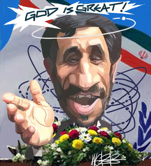 Mahmoud Ahmadinejad. 12 April, 2006.