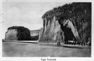 Cliffs at Cape Foulwind