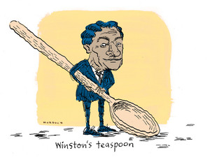 Murdoch, Sharon Gay, 1960- : Winston's teaspoon. 20 November 2011