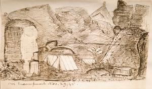 [Taylor, Richard] 1805-1873 :Our encampment, Nov. 29, 1845.