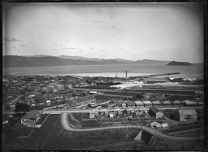 Part 2 of a 2 part panorama overlooking Petone
