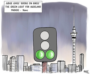 "'Judge gives ""Boobs on bikes"" the green light for Auckland Parade - News'. 20 August, 2008"