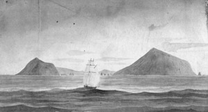 [Swainson, William] 1789-1855 :Port Hardy, Durville Islands, Cooks Strait [1841]