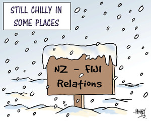 NZ - Fiji relations. Still chilly in some places. 23 June, 2007