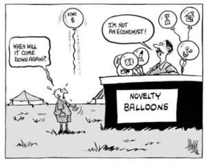 Hawkey, Allan Charles, 1941- :Novelty Balloons. Waikato Times, 21 January 2003.