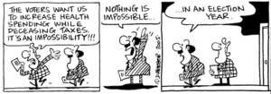 """Fletcher, David, 1952- :""""Nothing is impossible ...in an election year."""" Dominion Post 31 May 2005"""