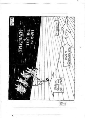 Brockie, Robert Ellison, 1932- :Land of the lost & bewildered. 30 November 2011
