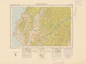 Pencarrow [electronic resource] / [drawn by] W. Royel and W. Panton, 1944 ; compiled from official surveys and aerial photographs.