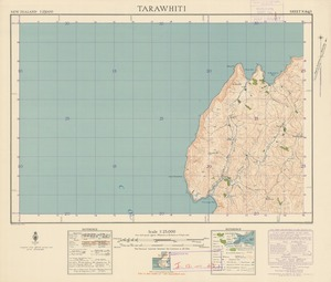 Tarawhiti [electronic resource] / M. Pirrit, July 1942 ; compiled from official surveys and aerial photographs.
