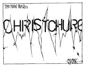 Winter, Mark 1958- :Christchurch - the new tear. 3 January 2012