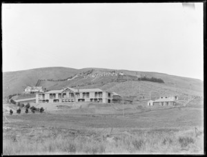 King George V Coronation Memorial Hospital, Christchurch, showing extended grounds