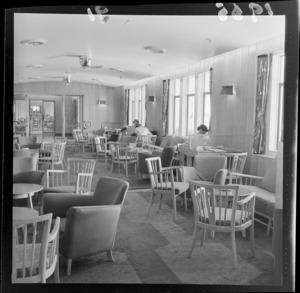 Passenger lounge, ship SS Orsova