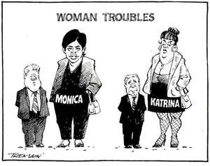 Woman troubles. 21 September, 2005.