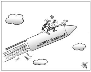 Waikato economy. 12 March, 2004.
