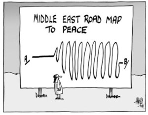 Middle East road map to peace. 14 June, 2003.