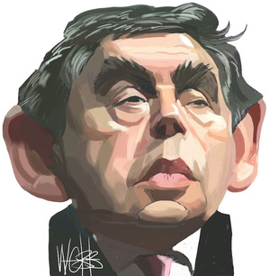 Gordon Brown. 11 November, 2007.