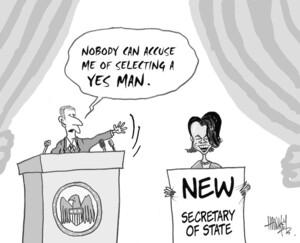 Hawkey, Allan Charles, 1941-:Nobody can accuse me of selecting a yes man. Waikato Times, 18 November 2004.