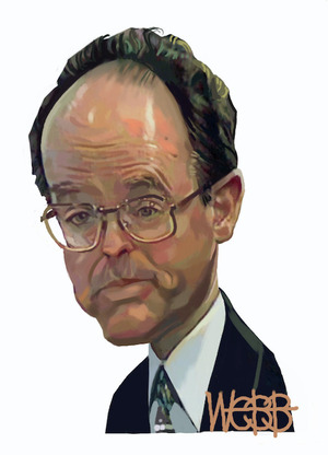 Webb, Murray, 1947- :Don Brash (circa 1997-1999).