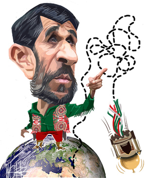 Mahmoud Ahmadinejad. 17 July, 2008
