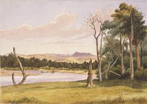 [Smith, William Mein] 1799-1869 :On the Ruamahanga, Wairarapa. 1860