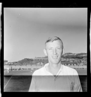Cricketer David L Perry of Auckland