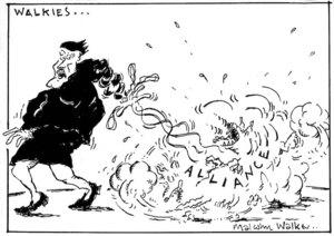 WALKIES... Alliance. Sunday News, 25 June 2001