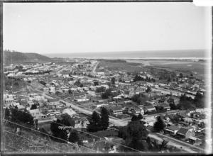 Overlooking Greymouth