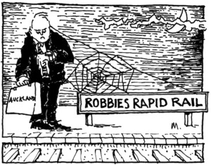 ROBBIES RAPID RAIL. Auckland. Bay News, 28 May 2007