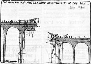 Bromhead, Peter, 1933- :The Australian-New Zealand relationship in the `80s... 10 September 1980.