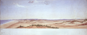 Smith, William Mein, 1799-1869 :Sketch taken from the north bank of the Turakina. September, 1841.