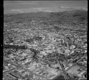 Christchurch from the air