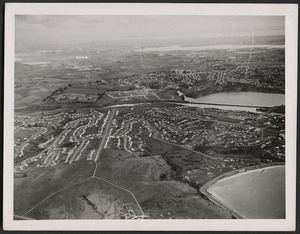 Aerial view of Orakei, Auckland
