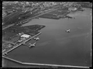 Flying boat base, Auckland Harbour