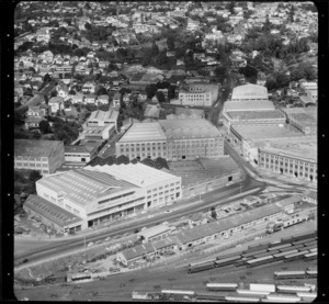 Industrial buildings, Parnell, Auckland