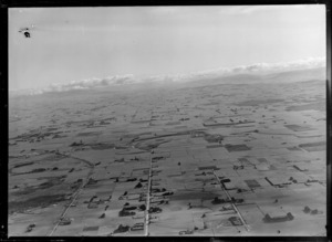Farmland looking west, Southland District
