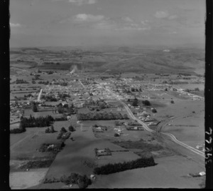 Kaikohe, Northland, showing rural area and housing
