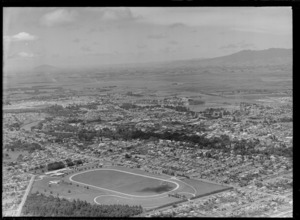 Hamilton, Waikato, showing Claudelands Show Grounds (now Jubilee Park)