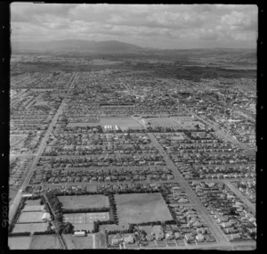 Palmerston North, Manawatu-Whanganui, showing housing, including A and P Showgrounds