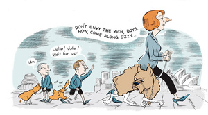 Murdoch, Sharon Gay, 1960- :'Don't envy the rich boys. Now come along Ozzy...'. 27 April 2012