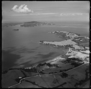 Area including Algies Bay, Auckland