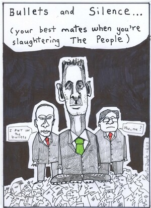 Doyle, Martin, 1956- :'Bullets and Silence...(your best mates when you're slaughtering The People). 13 June 2012