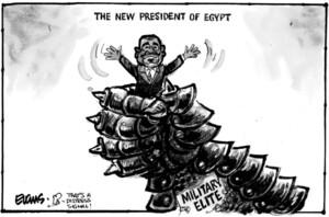 Evans, Malcolm Paul, 1945- :The New president of Egypt. 24 June 2012