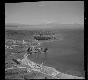 Taupo district, including lake coastline, Rainbow Point and Waipahihi